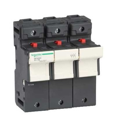 DF223C TeSys pojistkový odpojovač 3p 125A, velikost pojistky 22x58mm, Schneider Electric