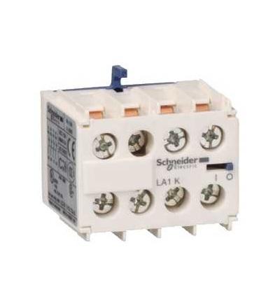 Schneider Electric LA1KN40 TeSys K, blok pomocných kontaktů, 4Z, šroubové svorky