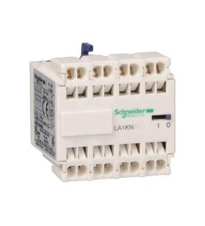 Schneider Electric LA1KN403 TeSys K, blok pomocných kontaktů, 4Z, pružné svorky