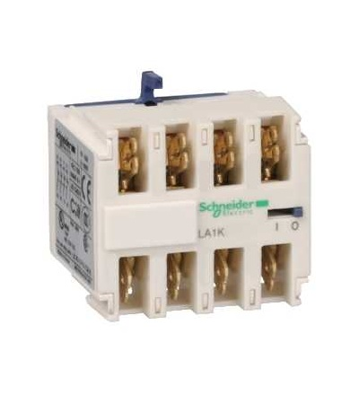 Schneider Electric LA1KN227 TeSys K, blok pomocných kontaktů, 2Z+2V, konektor faston