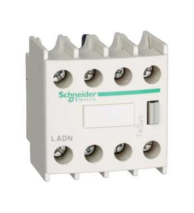 LADN40 TeSys D, blok pomocných kontaktů, 4Z, šroubové svorky, Schneider Electric