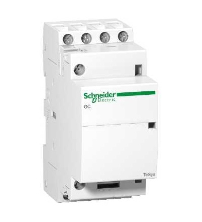 Schneider Electric GC2522M5 TeSys GC, instalační stykač, 25A, 2 Z+2 V, cívka 220...240 V AC