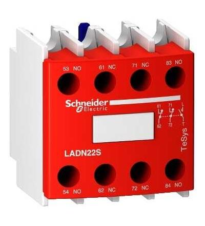 LADN22S Blok pom. kontaktů 2Z+2V safety, Schneider Electric