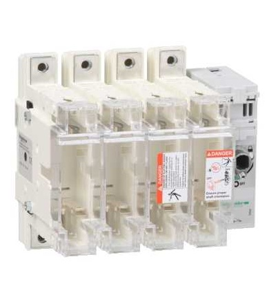 Schneider Electric GS2N4 Tělo pojistkového odpínače TeSys GS2N, 4p, 250A, DIN 1