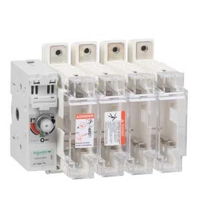 Schneider Electric GS2QQG4 Tělo pojistkového odpínače TeSys GS2Q, 4p, 400A, DIN 2