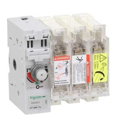 Schneider Electric GS2SG3 Tělo pojistkového odpínače TeSys GS2S, 3p, 630A, DIN 3