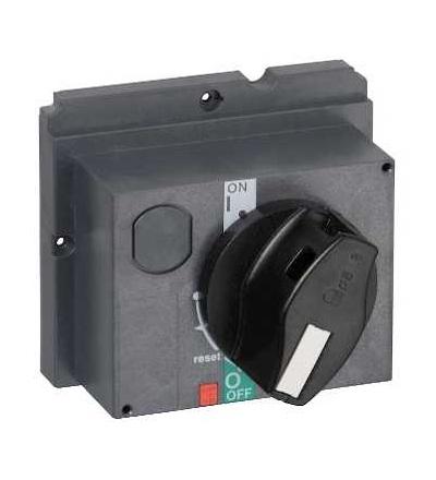 Schneider Electric GV7AP03 čelní otočná rukojeť GV7AP GV7R, černá rukojeť