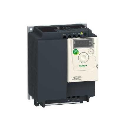 Schneider Electric ATV12PU40M3 Frekvenční měnič ATV312-0,18kW-0,6kVA-24W-200..240 V- 1-fáz. napájení
