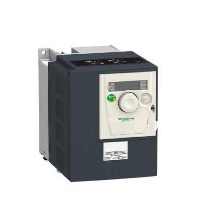 Schneider Electric ATV312HU11N4B Frekvenční měnič ATV312, 1,1kW, 3,2kVA, 48W, 380..500 V, 3 fáz. napájení