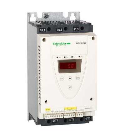 Schneider Electric ATS22D47S6 Softstartér, ATS22, ovl. 220V, výkon 230V(11kW)/400...440V(22kW)/500V(30kW)