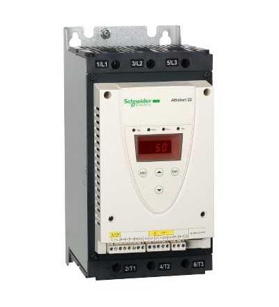 Schneider Electric ATS22D88S6 Softstartér, ATS22, ovl. 220V, výkon 230V(22kW)/400...440V(45kW)/500V(55kW)