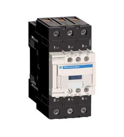 LC1D50AP7 TeSys D stykač, 3p(3Z), AC-3, ? 440 V 50A, 230 V AC cívka, Schneider Electric