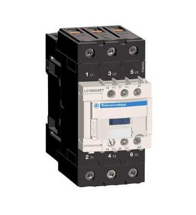 LC1D65AP7 TeSys D stykač, 3p(3Z), AC-3, ? 440 V 65A, 230 V AC cívka, Schneider Electric