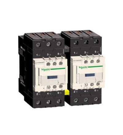 Schneider Electric LC2D65AP7 TeSys D reverzační stykač, 3p(3Z), AC-3, ? 440 V 65A, 230 V AC cívka