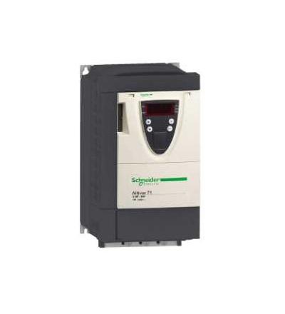Schneider Electric ATV71PU75N4Z Frekvenční měnič ATV71, se základní deskou, 7,5kW 10HP, 480V, EMC filtr