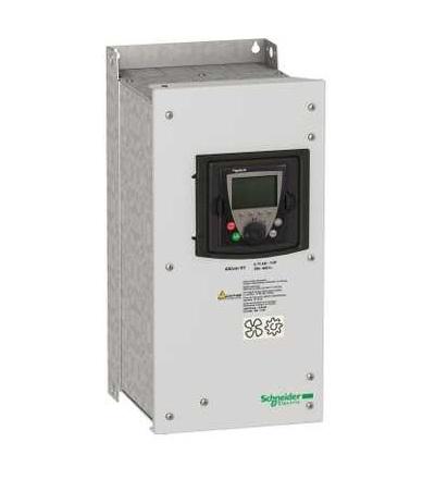 Schneider Electric ATV61WU55N4C Frekvenční měnič ATV61, 5,5kW 7,5HP, 380...480V, filtr EMC, IP54