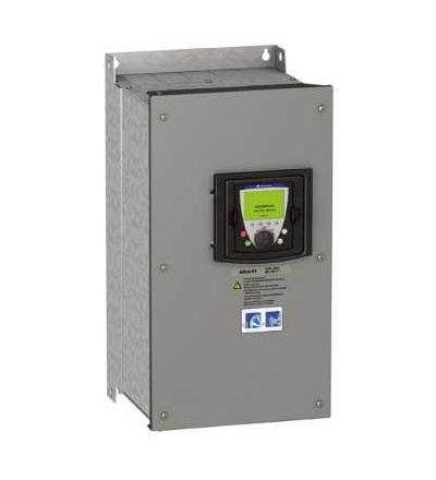 Schneider Electric ATV61WU75N4C Frekvenční měnič ATV61, 7,5kW 10HP, 380...480V, filtr EMC, IP54