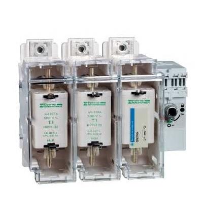 Schneider Electric GS2N3 Tělo pojistkového odpínače TeSys GS2N, 3p, 250A, DIN 1