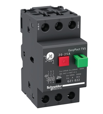 Schneider Electric GZ1E04 Spouštěč motoru TVS 0,4-0,63A