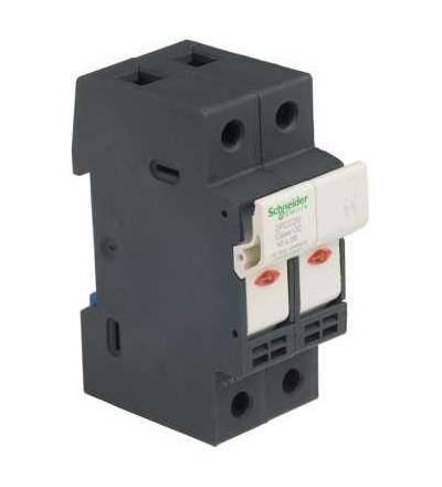 DFCC2V TeSys pojistkový odpojovač 2p 30A, třída pojistky CC, se signalizací, Schneider Electric