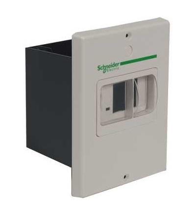 Schneider Electric GV2MP02 TeSys GV2, prázdná skříňka, pro GV2ME, IP55, zapuš. montáž