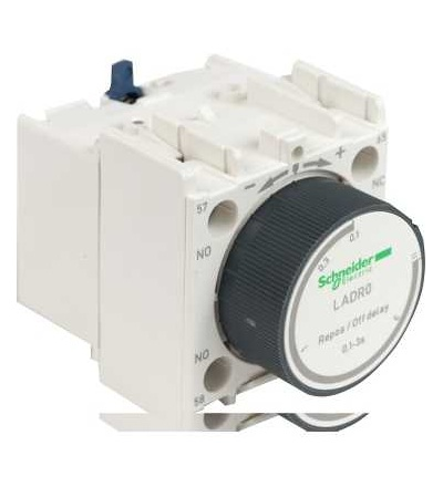 LADR0 TeSys D, blok pomocných kontaktů, 1Z+1V, šroubové svorky, Schneider Electric