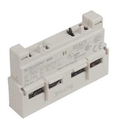 Schneider Electric GVAE11 TeSys GV2 & GV3 -napěťová spoušť , 1 Z+1 V