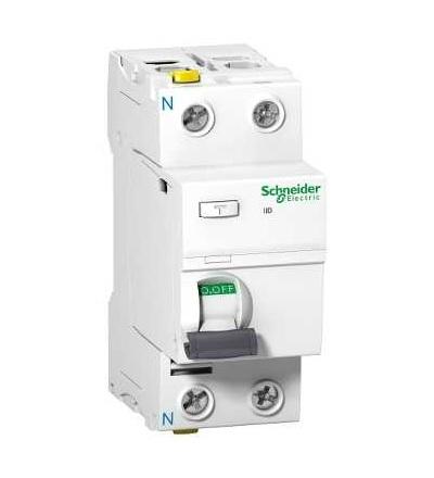 Schneider Electric A9Z77263 Proudový chránič iID, 2p, 63A, 100mA, typ G AC