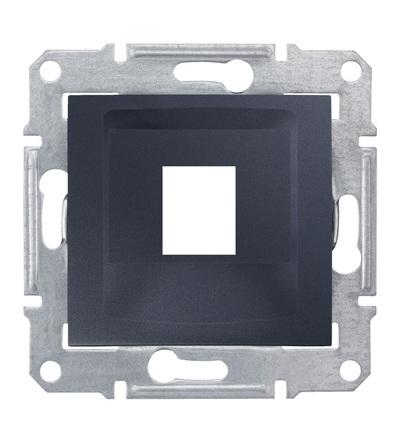 SDN4300570 Kryt pro 1xRJ45 Systimax, graphite, Schneider Electric