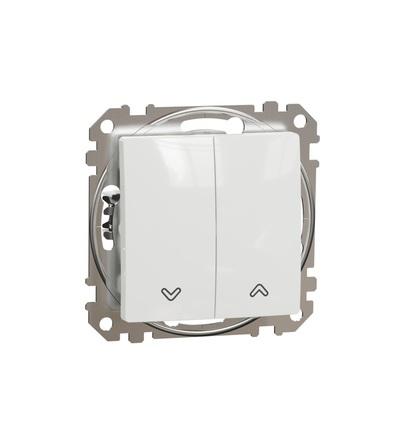 SDD111114 Tlačítkový ovládač žaluzií, Bílá, Schneider electric