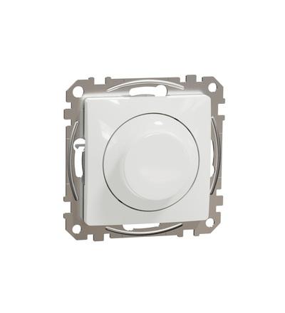 SDD111502 Univerzální otočný LED stmívač, Bílá, Schneider electric