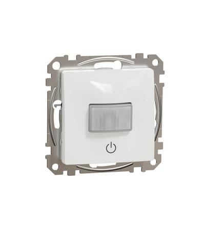 SDD111504 Pohybové čidlo se spínačem 10A, Bílá, Schneider electric