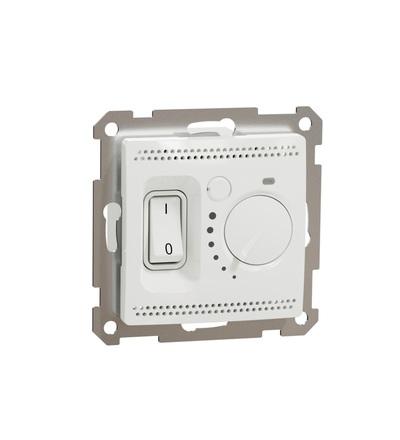 SDD111507 Podlahový termostat16A, Bílá, Schneider electric