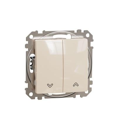 SDD112104 Spínač žaluzií, Béžová, Schneider electric
