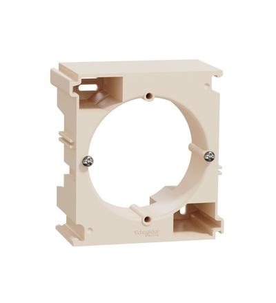 SDD112902 Krabice povrchová vícenásobná, Béžová, Schneider electric