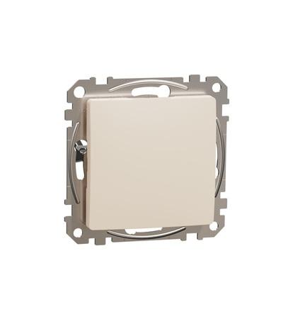 SDD112904 Záslepný kryt, Béžová, Schneider electric