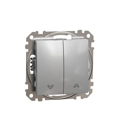 SDD113104 Spínač žaluzií, Aluminium, Schneider electric