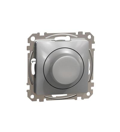 SDD113502 Univerzální otočný LED stmívač, Aluminium, Schneider electric