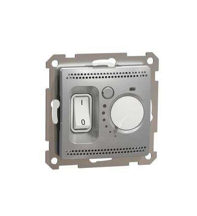 SDD113506 Prostorový termostat16A, Aluminium, Schneider electric