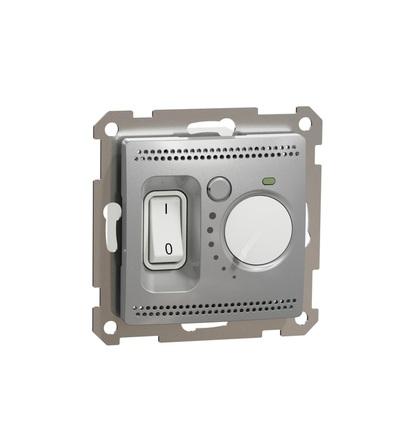 SDD113507 Podlahový termostat16A, Aluminium, Schneider electric