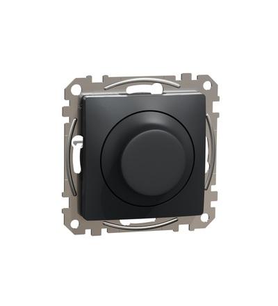 SDD114502 Univerzální otočný LED stmívač, Antracit, Schneider electric