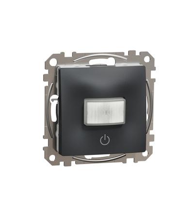 SDD114504 Pohybové čidlo se spínačem 10A, Antracit, Schneider electric