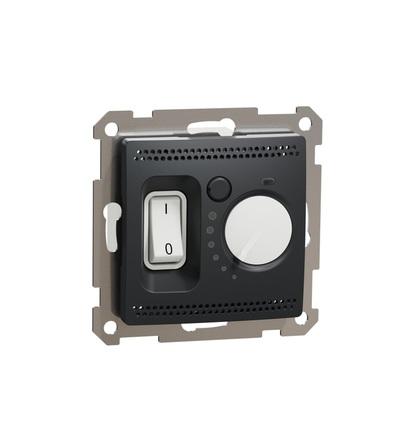 SDD114507 Podlahový termostat16A, Antracit, Schneider electric