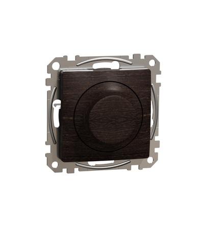 SDD181502 Univerzální otočný LED stmívač, Wenge, Schneider electric