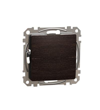 SDD181904 Záslepný kryt, Wenge, Wenge, Schneider electric