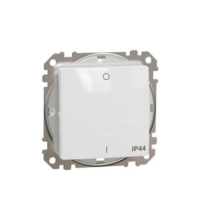 SDD211102 Spínač dvojpólový ř.2 IP44, Bílá, Schneider electric