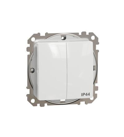 SDD211105 Přepínač sériový ř.5 IP44, Bílá, Schneider electric
