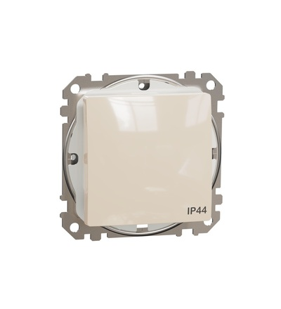 SDD212101 Spínač jednopólový ř.1 IP44, Béžová, Schneider electric