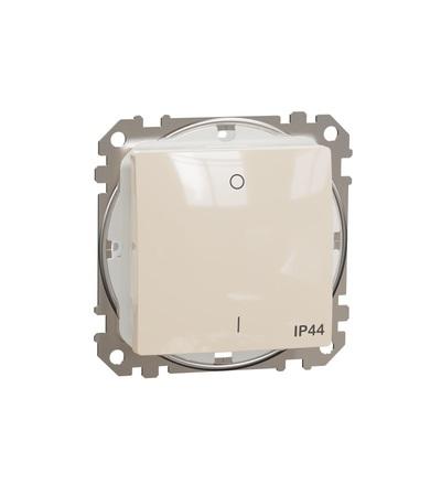 SDD212102 Spínač dvojpólový ř.2 IP44, Béžová, Schneider electric