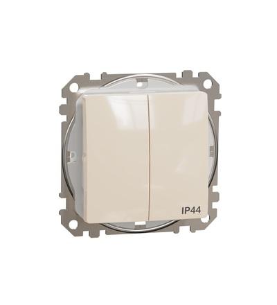 SDD212105 Přepínač sériový ř.5 IP44, Béžová, Schneider electric